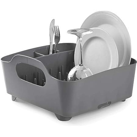 umbra 330590-149 330590-149 Tub Dish Rack Charcoal, Regular