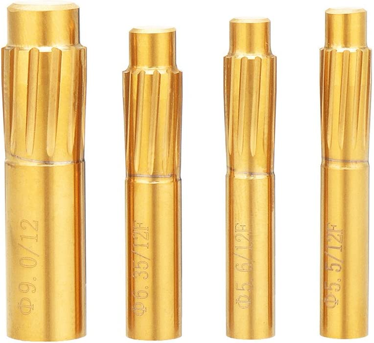 CoCocina 5.5mm-9.0mm Rifling Button 12 Tucson Mall Flutes Alloy Chamber Industry No. 1 Hard