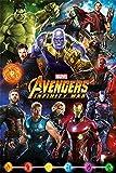 Avengers: Infinity Krieg 'Zeichen' Maxi Poster,61 x 91.5 cm