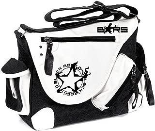 Siawasey Black Rock Shooter Anime Cosplay Backpack Cross-body Tote Bag Messenger Bag Shoulder Bag