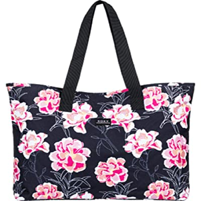 Roxy Wildflower Printed Tote (Anthracite Zilla) Tote Handbags