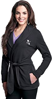 LB673 Womens Knit Robe Jacket with faux belt