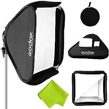 Black + White WEIHONG WEIHONG Softbox 20cm Universal Octangle Style Flash Folding Soft Box Without Flash Light Holder