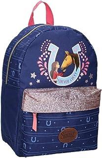 Spirit Children's Backpack – Spirit: Wild and Free – Blue with Glitter