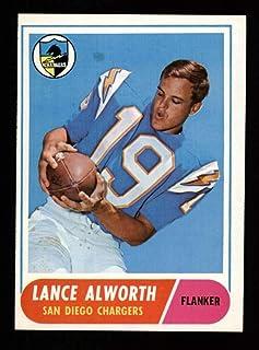 1968 Topps Football #193 Lance Alworth STARX 8 NM/MT CS25360