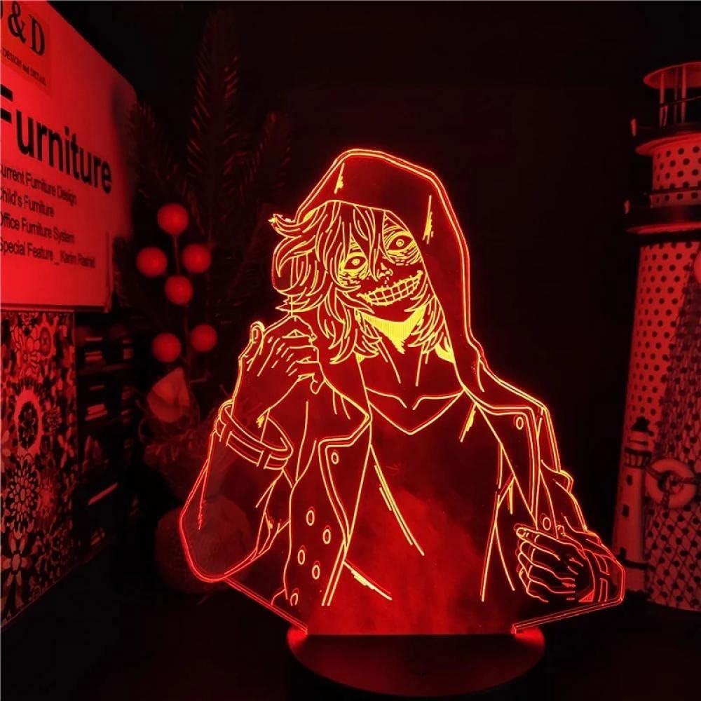 My Hero Oakland Mall Academia Japanese Anime El Paso Mall Light 3D Illusion Lamp LED Sign