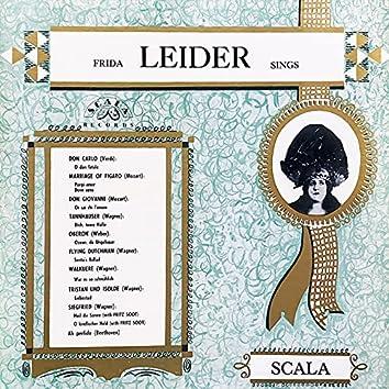 Frida Leider Sings