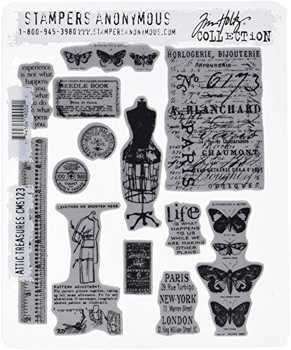 Unbekannt Tim Holtz Cling Stamp 2.5X3.5-Ticket