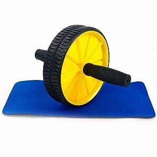Man och Kvinnor Abdominal Wheel Round Fitness AB Roller Coaster övningar