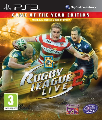 Rugby League Live 2 - Game Of The Year Edition (Playstation 3) [UK IMPORT]