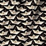 RADANYA Schiff Printed Cotton Cambric Stoff Art & Craft von