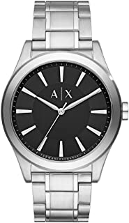 Stainless Steel Sunray Dial Watch