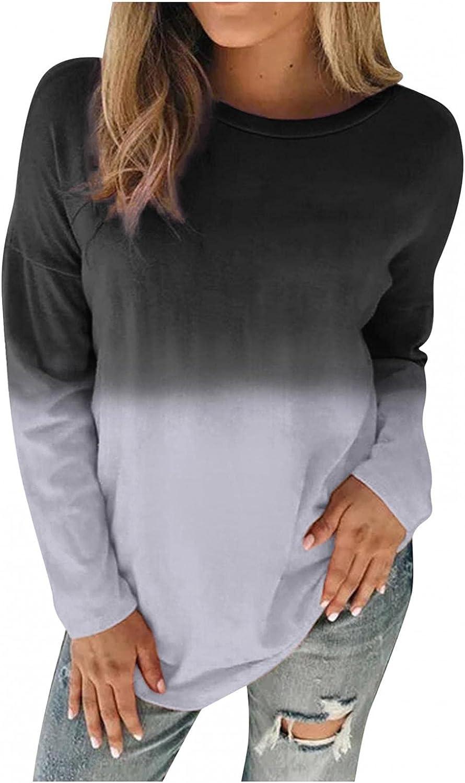 BAGELISE Womens Sweatshirts and Hoodies,Hoodies for Women Pullover Long Sleeve Tie Dye Color Graphic Hoodie Sweatshirt