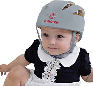Baby Adjustable Safety Helmet Children Headguard Infant Protective Harnesses Cap Gray