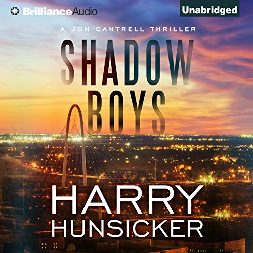 Shadow Boys audiobook cover art