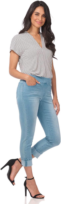 Rekucci Secret Figure Discount is also underway Denim Women's Sale item Capri Pull-On Slim Jean Fit