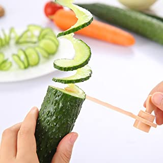 Hot Sale!DEESEE(TM)🌸🌸 Magic Potato Cutter Carrot Spiral Slicer Cutting Models Kitchen Cooking Tools