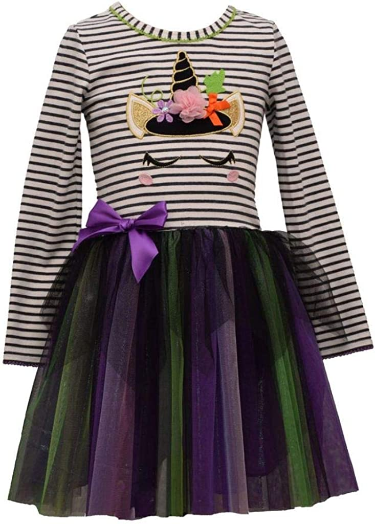 Bonnie Jean Girl's Halloween Dress Outfit for Toddler and Little Girls