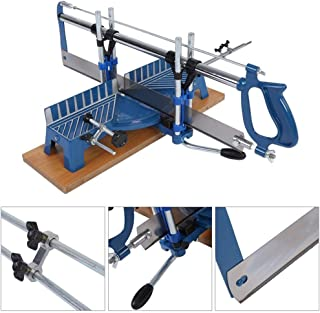 Mitre Saw, 22.5°, 30°, 36°, 45°, 90° Iron Manual Precision Mitre Hand Saw Angle Woodwork Carpentary Saw Hand Tool