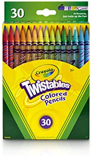 Crayola Twistables Colored Pencils, 30 Count, Assorted Colors, Gift
