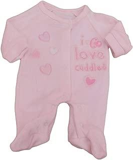 con Etiquetas Tiny Prematuro Prematuro beb/é ni/ña Cupcake 2 Pack de Pijamas