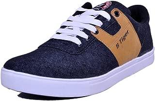 Black Tiger Men's Casual Shoes 8082-Black