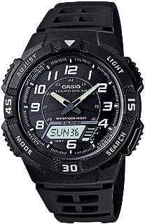 Casio Youth Watch for Men - Analog-Digital Resin Band - AQ-S800W-1BVDF