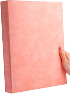 $60 » Notebook, Thick (220X290Mm, 200 Pages, 3 Pieces Set), Soft LeatherPink (3 Pieces) Horizontal Line, Blank, Cornell