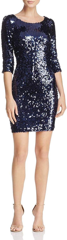 BB Dakota Womens Leila Sequined Party Cocktail Dress