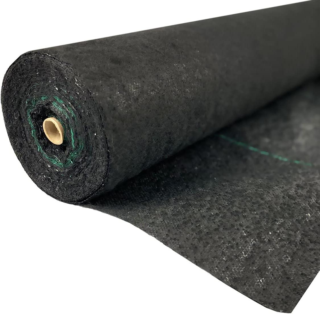 Ashman Landscape Fabric Weed Blocking x Heavy-Duty Mat Albuquerque Mall Max 62% OFF 100' 4'