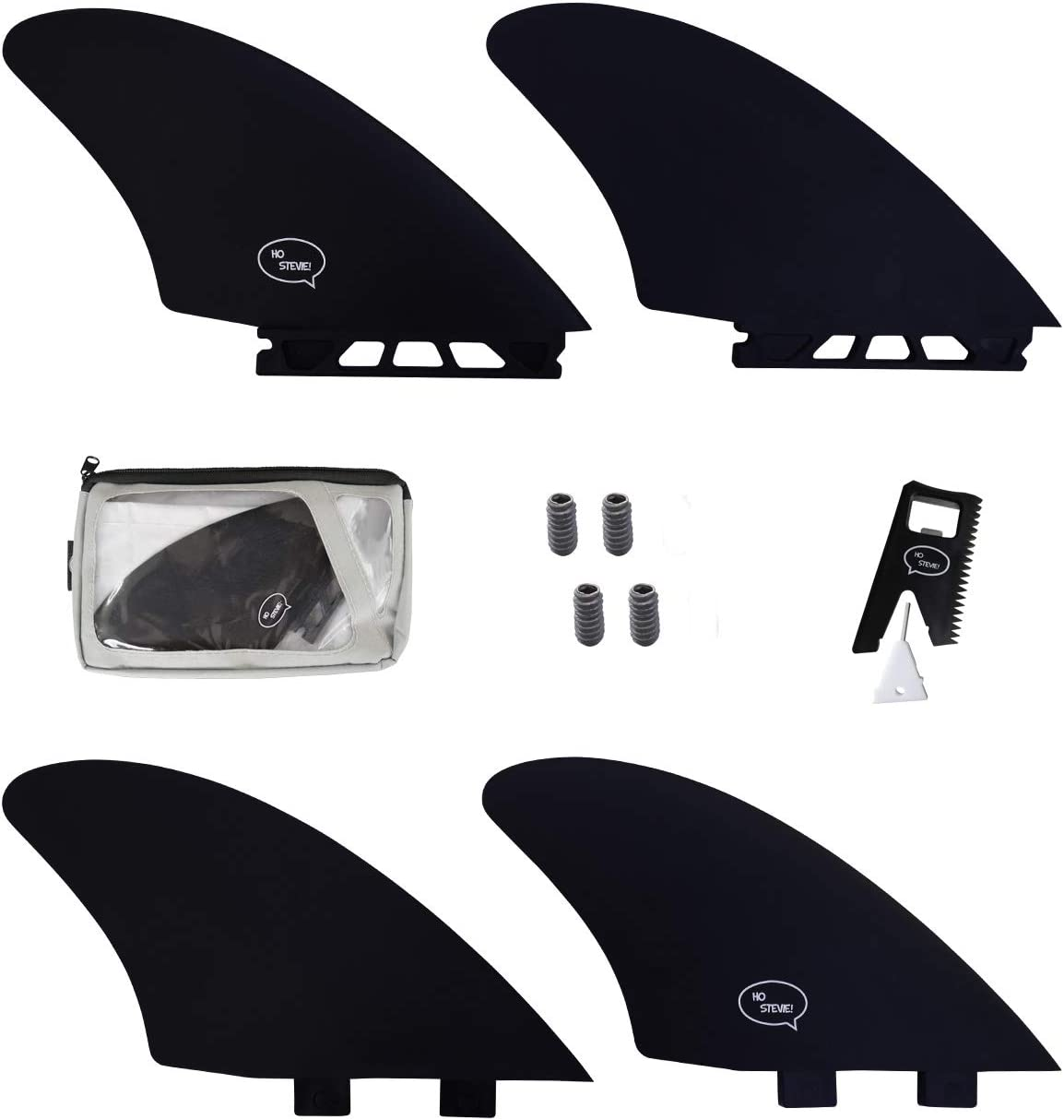 5% OFF Ho Stevie Surfboard Twin Keel Fins FCS List price - 2 or Compatible