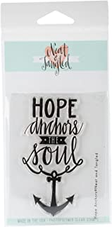 Neat & Tangled Hope Anchors Clear Stamps, 3