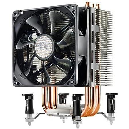 Cooler Master Hyper TX3 EVO Disipador Sistema de Enfriamiento CPU, Compacto y Eficiente, 3 Tubos de Calor de Contacto Directo, Ventilador PWM de 92 mm