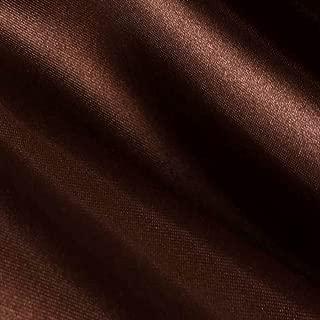 Brown Satin Fabric 60