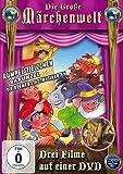 Die große Märchenwelt (Rumpelstilzchen, Rapunzel, Die Bremer Stadtmusikanten) [Alemania] [DVD]