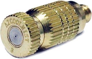 AZCOOLMIST Anti-Drip Brass Misting Nozzle 5pk .012 /.3mm