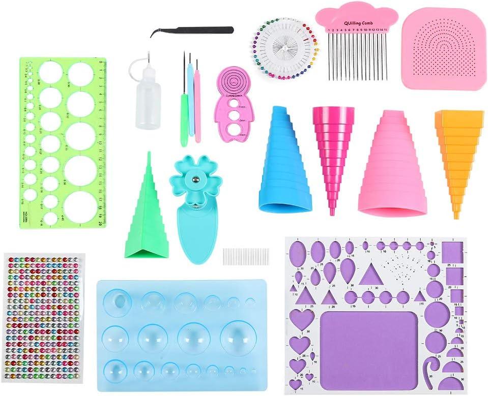 Simple DIY Accessory Under blast sales Clearer Paper Tool Cartoon Mul Omaha Mall Kit Crafts