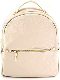 EMPERIA Karis Faux Leather Mini Fashion Backpacks Casual Lightweight Strong Rucksack Daypack for Women Lady Girl Teenager