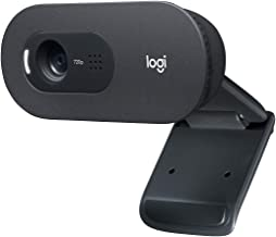 Logitech C505 HD Webcam - 720p HD External USB Camera for Desktop or Laptop with Long-Range Microphone, Compatible with PC...