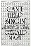 "book cover: Gerald Mast ""Can't Help Singin'"""