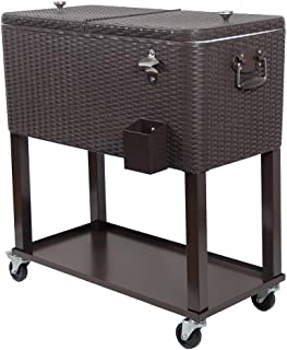 Best metal outdoor cooler cart Reviews