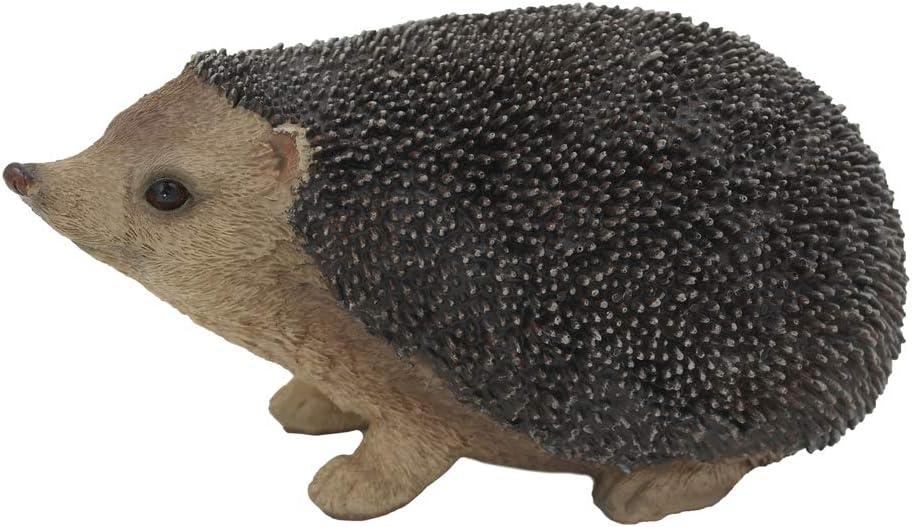 SDL Imports Resin 21 cm 日本正規代理店品 Hedgehog Animal Ornament F Garden - 低価格 Yard