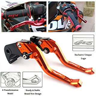 CNC Short Brake /& Clutch Levers For Suzuki DL650 V-Strom GSX600F GSX750F Katana 1998-2010
