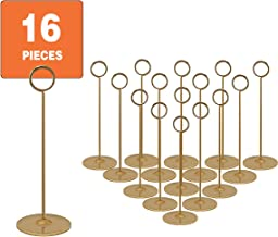 Best gold table number stands Reviews