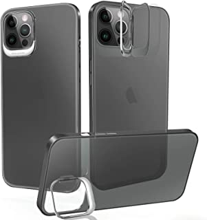 UNIOTEK Compatible with iPhone 11 Clear Case,[Strengthen Camera Protection with Kickstand][Anti-Scratch Anti-Yellow Ultra ...