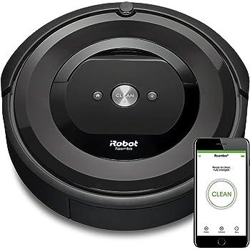 【セット割対象商品】ルンバ e5 アイロボット ロボット掃除機 水洗い ダストボックス パワフルな吸引力 WiFi対応 遠隔操作 自動充電 ラグ 絨毯(じゅうたん) にも e515060 【Alexa対応】