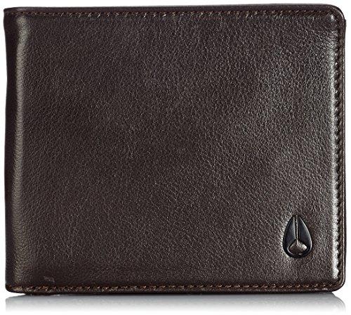 Nixon Münzbörse Apex Großes Dreifach Gefaltetes Portemonnaie Braun 3007001706341