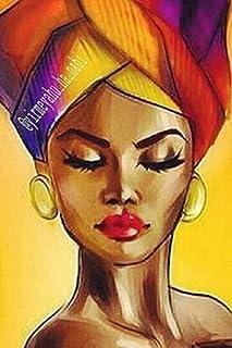 Diamond Painting Cross Stitch,5d Diamond Painting African Beauty,DIY Diamond Art Rhinestone Embroidery Cross Stitch Kits S...