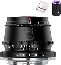 TTArtisan 35mm F1.4 Manual Focus APS-C Format Fixed Lens for Fuji Fujifilm X-Mount Cameras X-A1 X-A10 X-A2 X-A3 X-A5 X-H1 ...