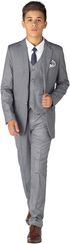 Paisley of London, Philip Suit, Boys Formal Occasion Suit, Kids Slim-Fit Suit, X-Large - 20